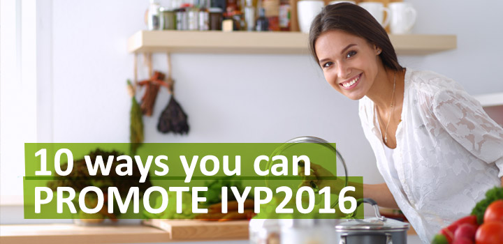 10 Ways You can Promote IYP2016