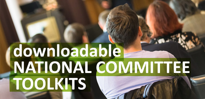 Click here for downloadable National Committee Toolkits