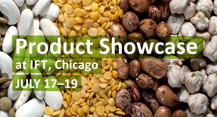Product Showcase at IFT, Chicago, July 17-19